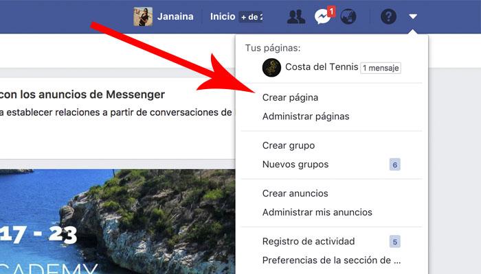 facebook-crear-pagina