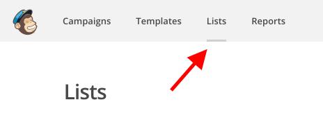 lists-mailchimp